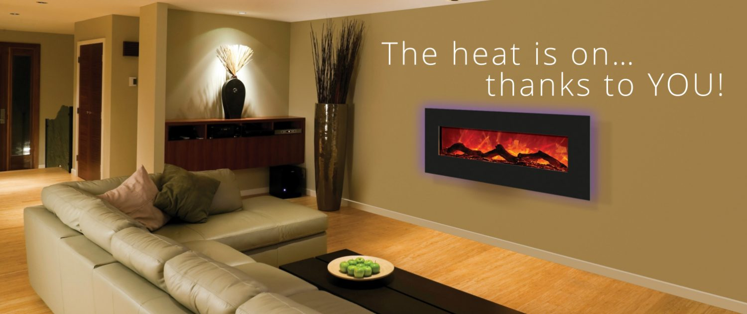 The Heat is on... Thanks to You!