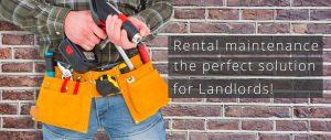 Rental Maintenance for Landlords